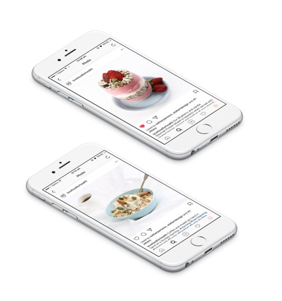 Instagram feed for Food for Health