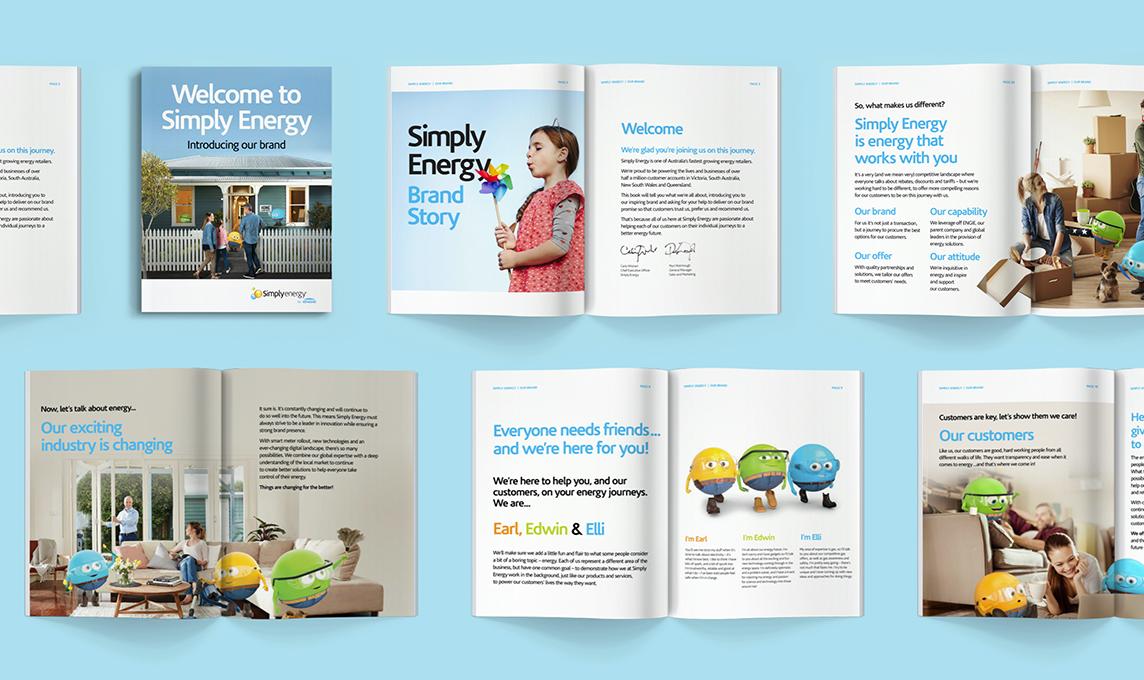 Simply Energy's Brand Book
