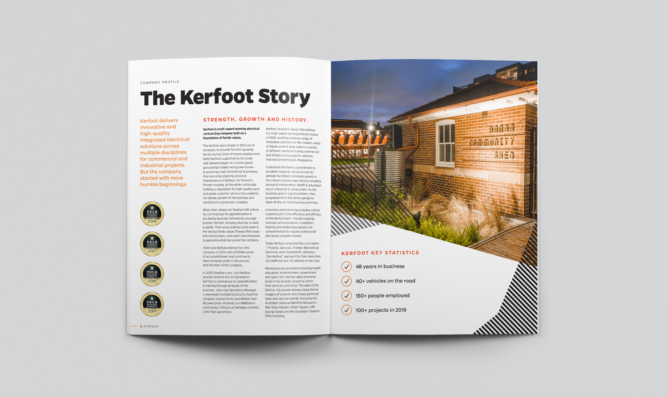 Kerfoot Brand Book - The Kerfoot Story